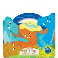 PIGGY STORY CARRY ME! COLOR ACTIVITY TOTE