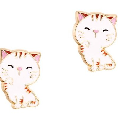 PIGGY STORY CUTTIE STUDS- SWEET KITTY