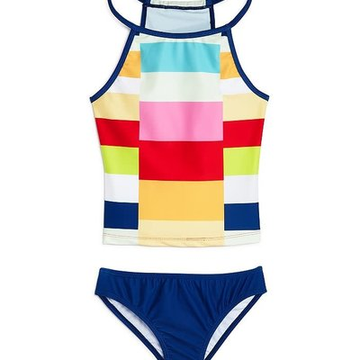 LIMEAPPLE PRINTED TANKINI SET