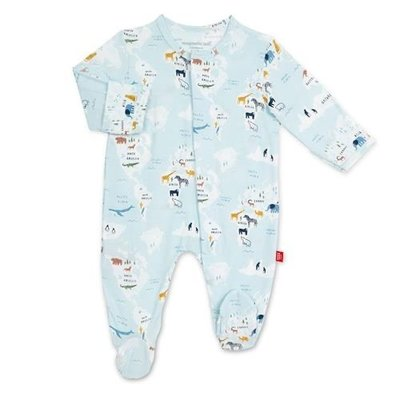 MAGNIFICENT BABY SEA THE WORLD MODAL MAGNETIC FOOTIE