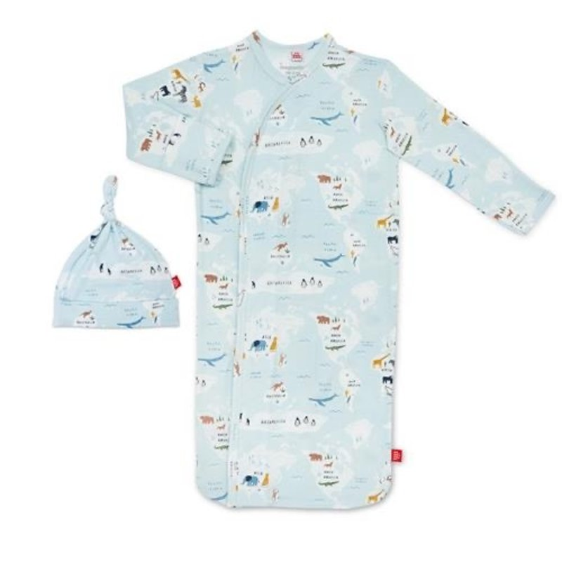 MAGNIFICENT BABY SEA THE WORLD MODAL MAGNETIC GOWN SET
