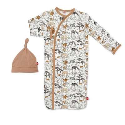 MAGNIFICENT BABY GREAT MIGRATION MODAL MAGNETIC GOWN SET