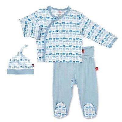 MAGNIFICENT BABY MODAL MAGNETIC 3PC KIMONO