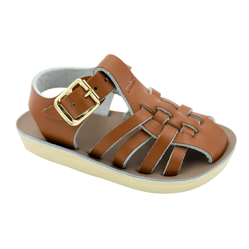 HOY SHOE COMPANY 4205 - BABY SAILOR TAN