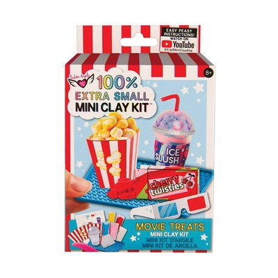 FASHION ANGELS 12435 EXTRA SMALLMINI CLAY KIT- MOVIE TREATS