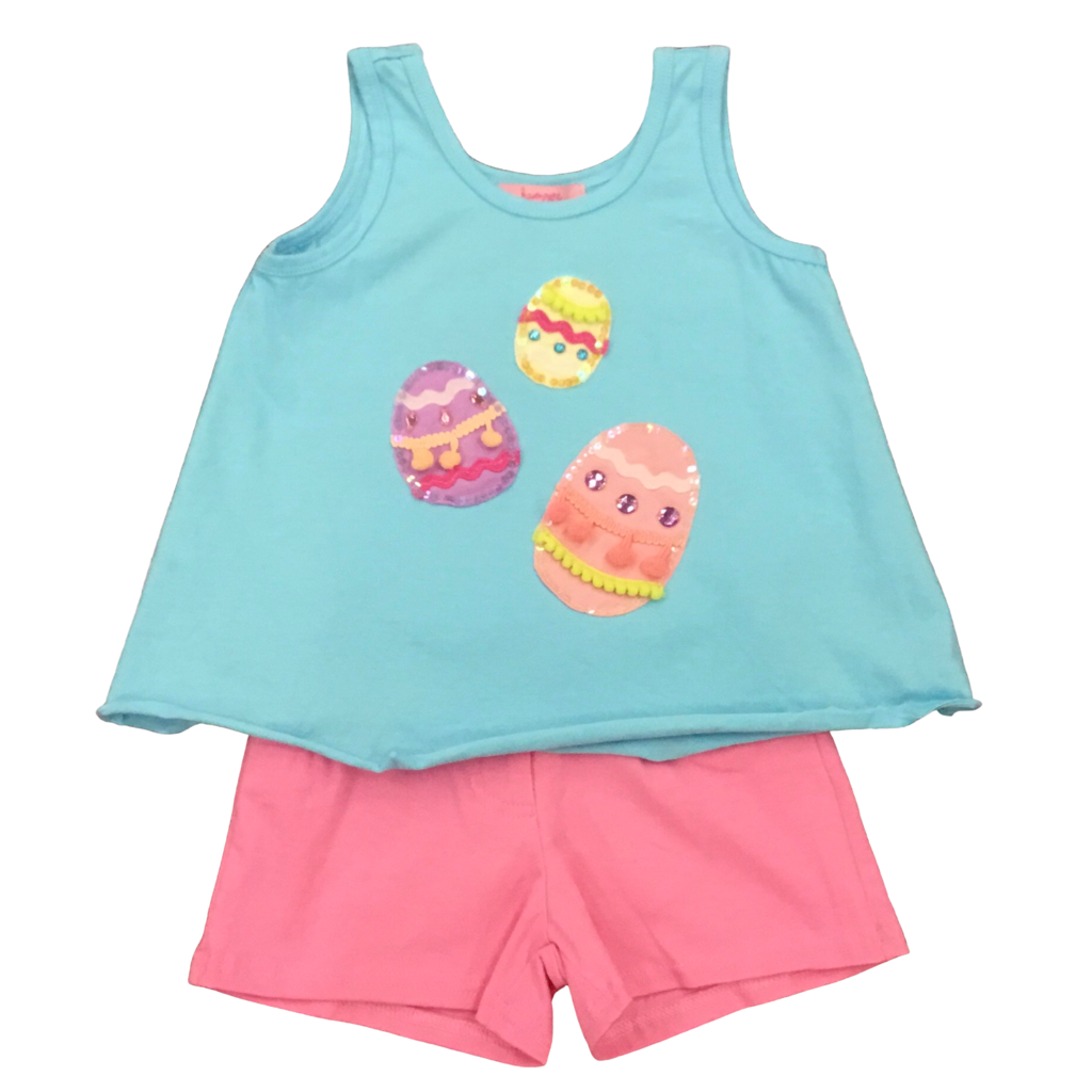 HAVENGIRL EASTER EGGS KARI TANK AND MILLY SHORT