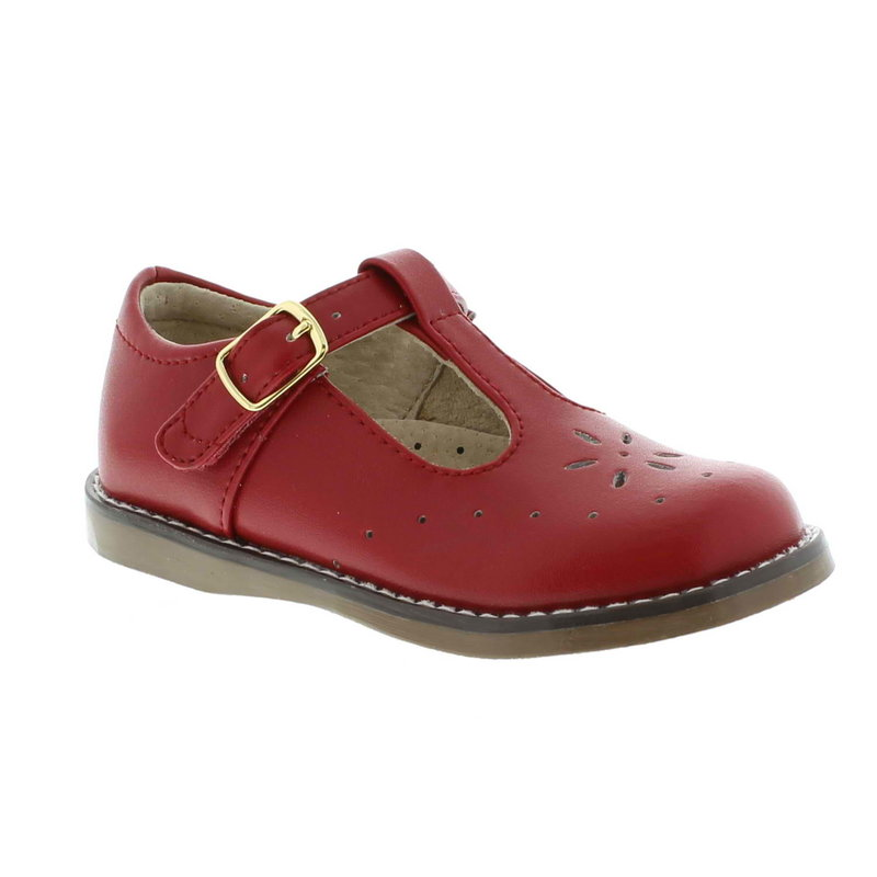 FOOTMATES SHERRY-APPLE RED