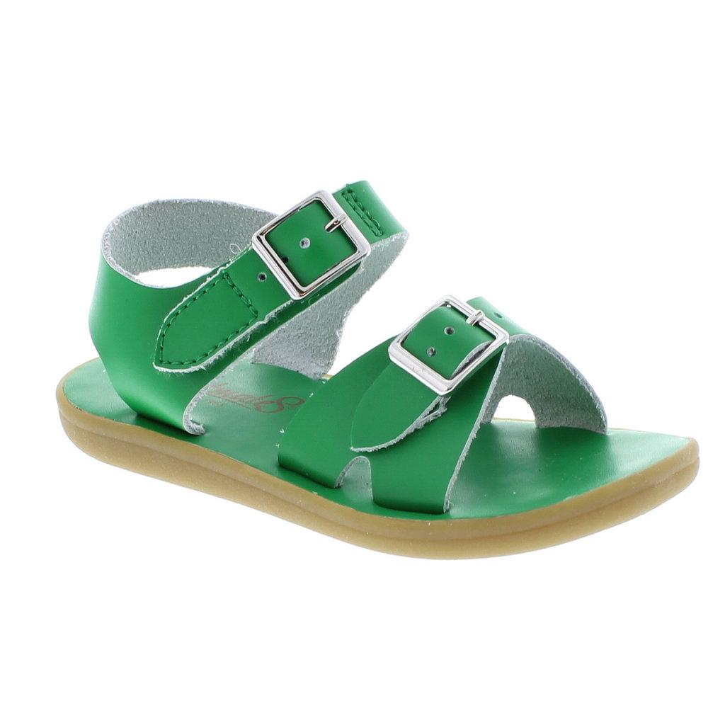FOOTMATES TIDE - KELLY GREEN