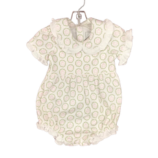 LILA AND HAYES COUNCIL BUBBLE WITH RUFFLED COLLAR