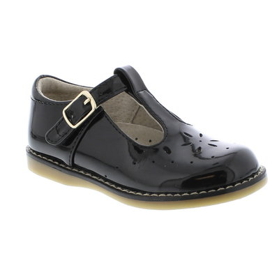 FOOTMATES SHERRY - BLACK PATENT
