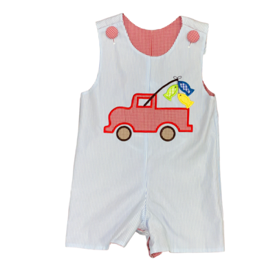 BANANA SPLIT SAILBOAT/FISHING TRUCK APPL REVERSIBLE JON JON