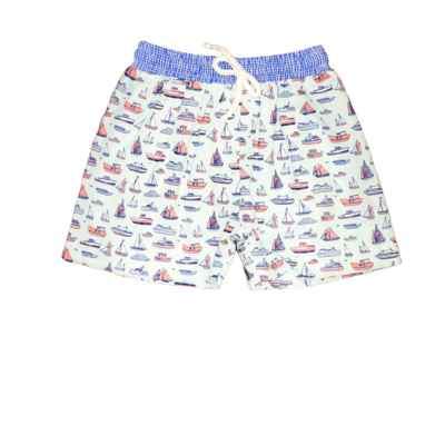 BANANA SPLIT REGATTA BOYS SWIMSUIT