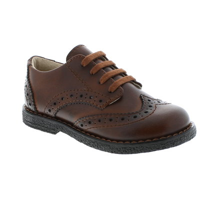 FOOTMATES LOGAN - COGNAC BURNISHED