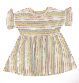 RYLEE + CRU STRIPE BABYDOLL DRESS