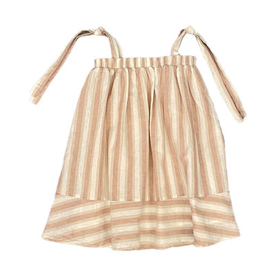 RYLEE + CRU SHOULDER TIE DRESS