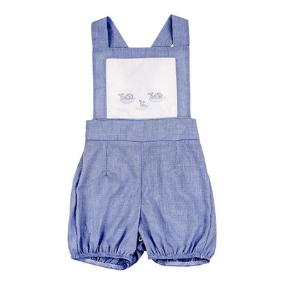 BAILEY BOYS SHORT INFANT BUBBLE- WHALES