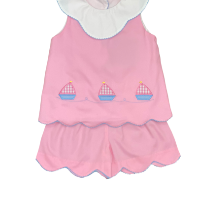 HONESTY SAILBOAT APPL GIRLS SET