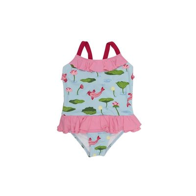 THE BEAUFORT BONNET COMPANY RODEO DRIVE RUFFLE SWIMSUIT- NO SNAP