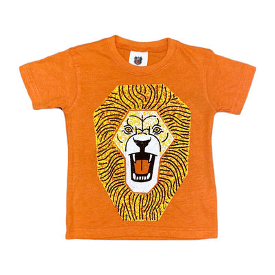 WES AND WILLY LION HEAD SS TEE