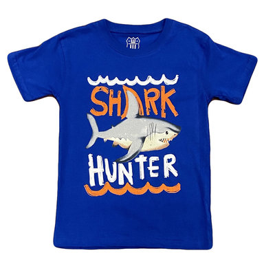 WES AND WILLY SHARK HUNTER SS TEE