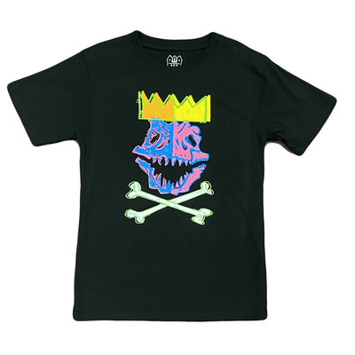 WES AND WILLY DINO KING SS TEE