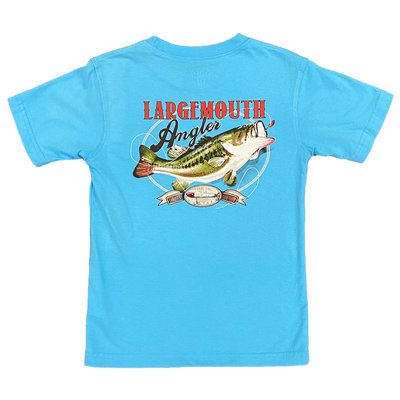 WES AND WILLY LARGEMOUTH ANGLER SS TEE
