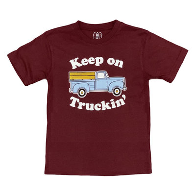 WES AND WILLY KEEP ON TRUCKIN SS TEE