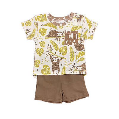 TESA BABE RAINFOREST BOYS TOP AND SHORT SET