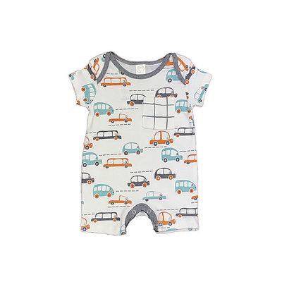TESA BABE CARS SHORTIE ROMPER