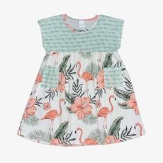 TESA BABE FLAMINGO DRESS