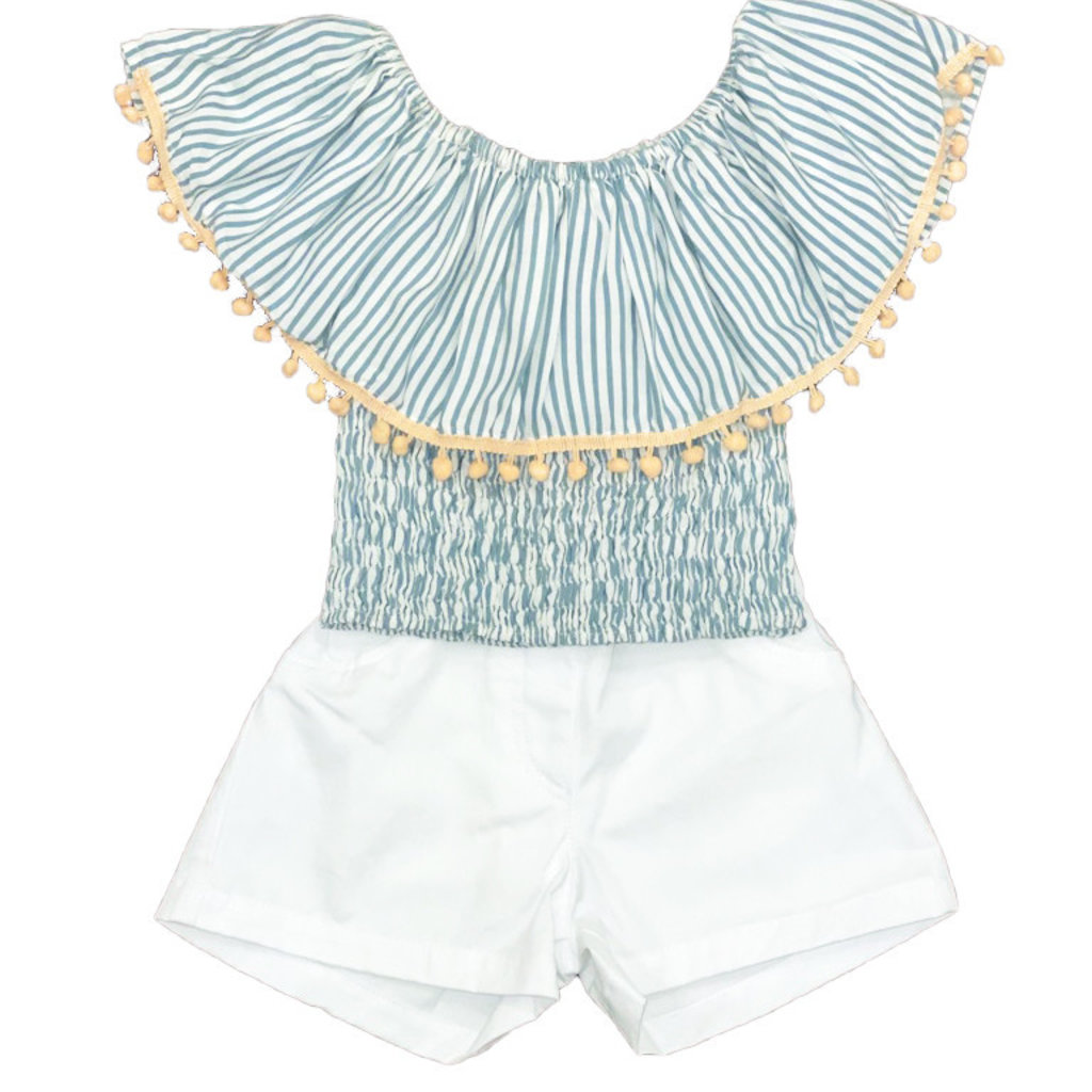 BRIAR TOP AND MILLY SHORT