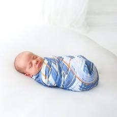 POSH PEANUT INFANT MUSLIN SWADDLE