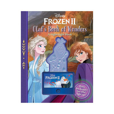 SIMON AND SCHUSTER DISNEY FROZEN 2- OLAF'S BOOK OF WONDERS