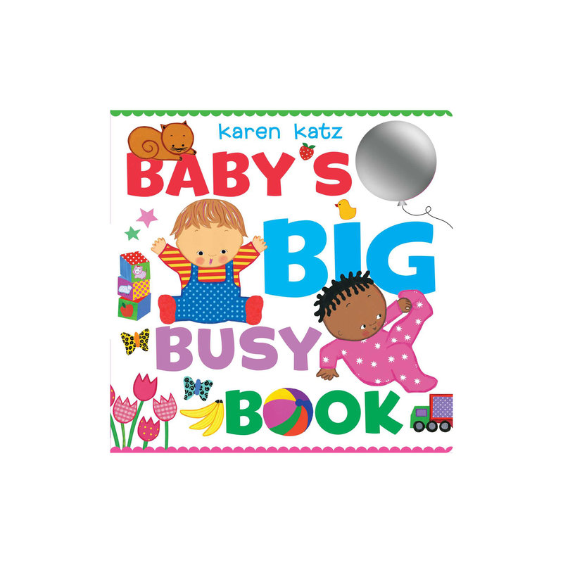 SIMON AND SCHUSTER BABY'S BIG BUSY BOOK