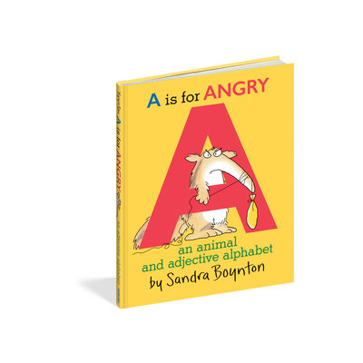 A IS FOR ANGRY HARDCOVER