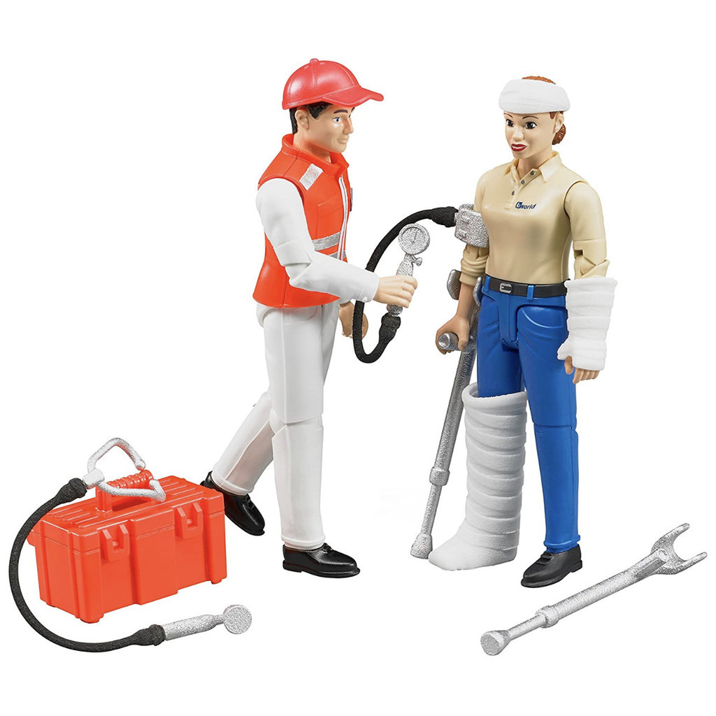 BRUDER AMBULANCE FIGURE SET