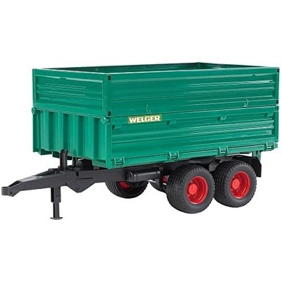 BRUDER TANDEM AXLE TIPPING TRAILER