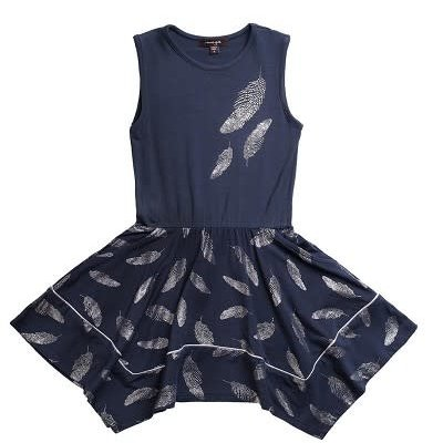 IMOGA THELMA DRESS- FEATHER