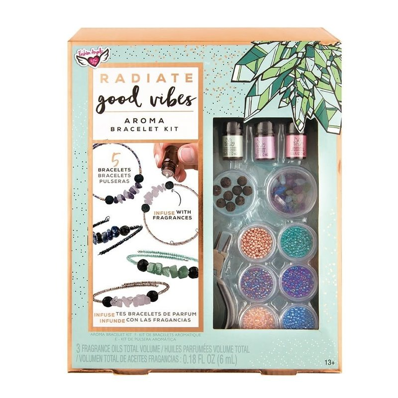 FASHION ANGELS CRYSTAL AROMA INFUSED BRACELET KIT