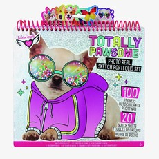 FASHION ANGELS 12542 TOTALLY PAWSOME PHOTO REAL SKETCH PORTFOLIO