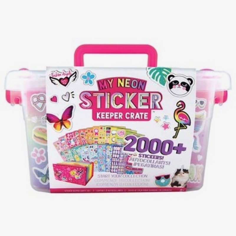 FASHION ANGELS 12458 MY NEON STICKER CRATE