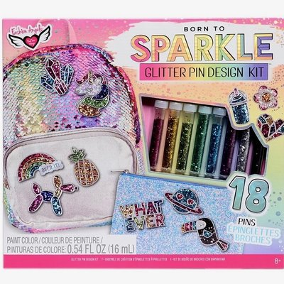 FASHION ANGELS 12309 GLITTER PEN DESIGN KIT