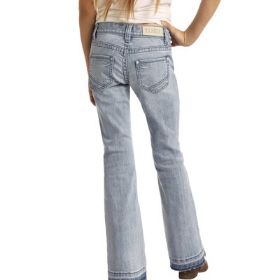 ROCK AND ROLL DENIM GIRLS TROUSER