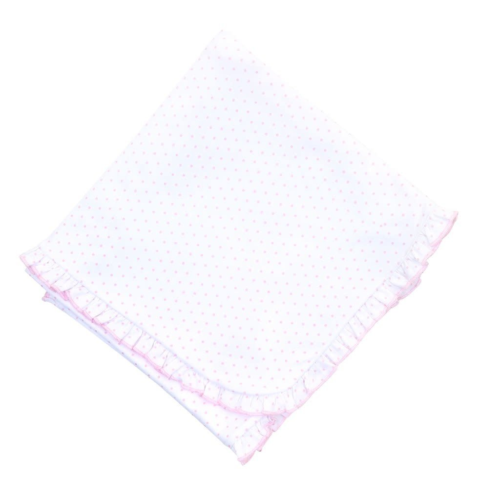 MAGNOLIA BABY MINI DOT ESSENTIALS BLANKET