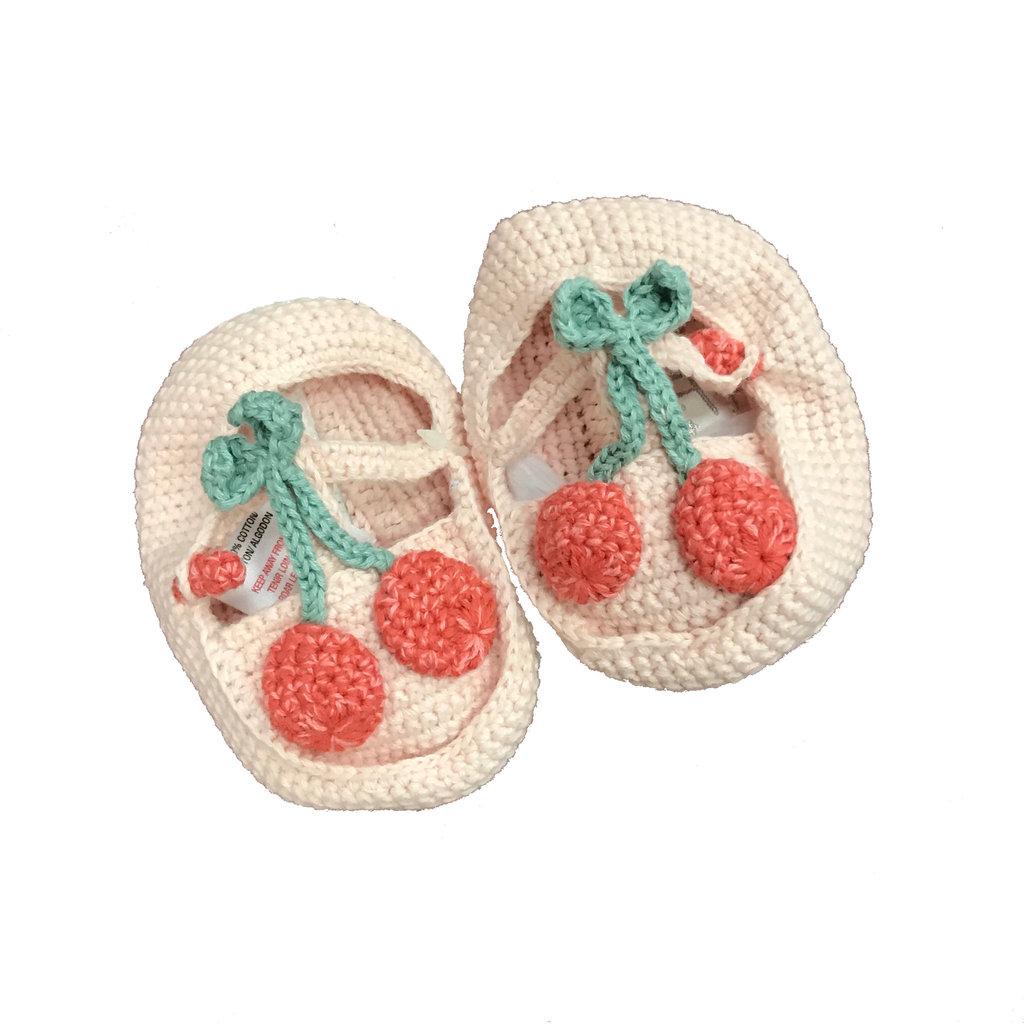 ALBETTA CROCHET BABY BOOTIES