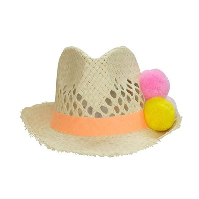 EVERBLOOM NATURAL STRAW HAT