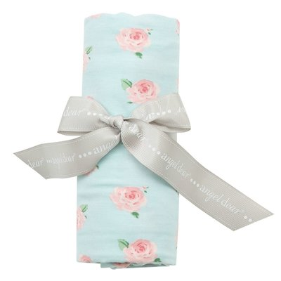 ANGEL DEAR PETITE ROSE SWADDLE BLANKET