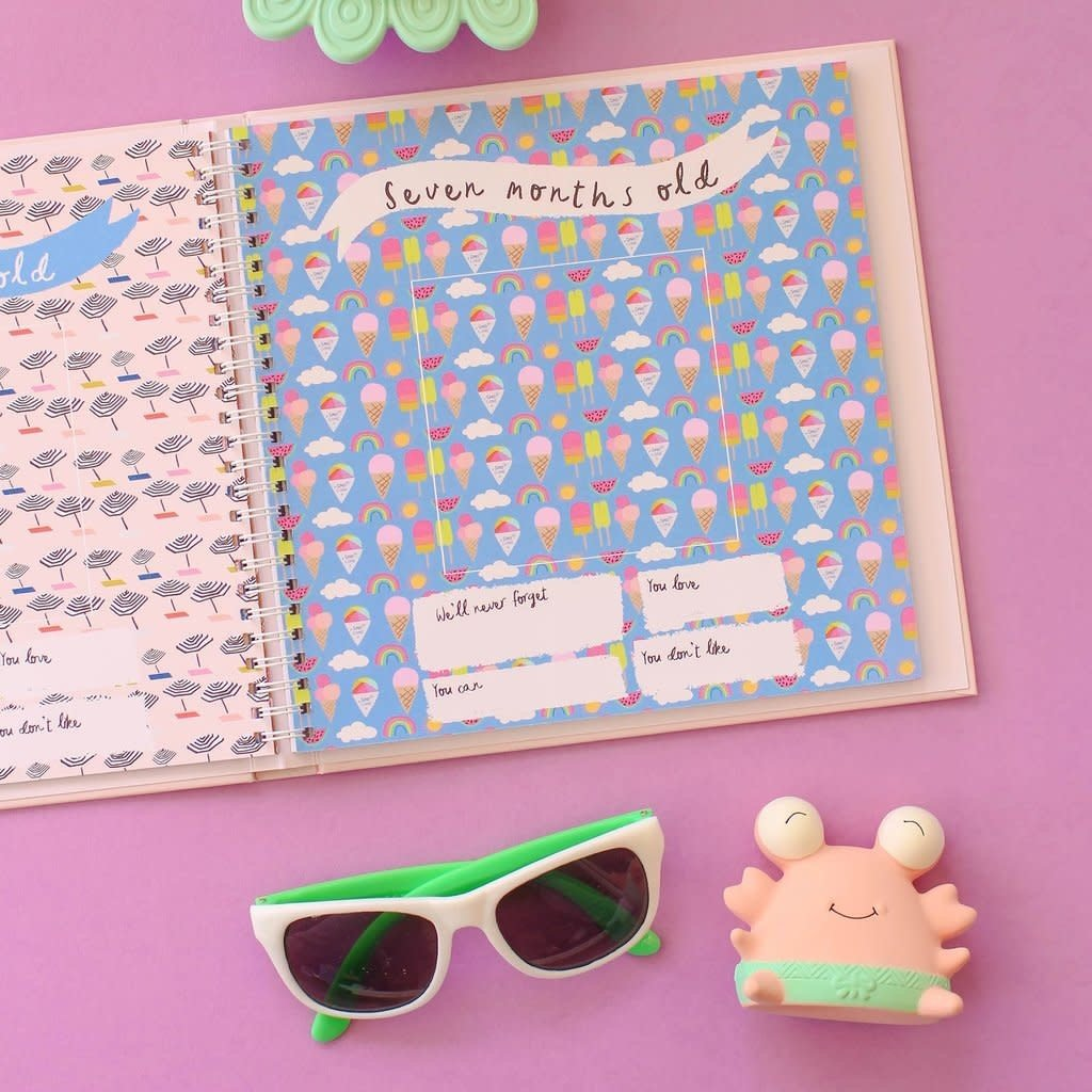 LUCY DARLING LITTLE BEACH BABE MEMORY BOOK