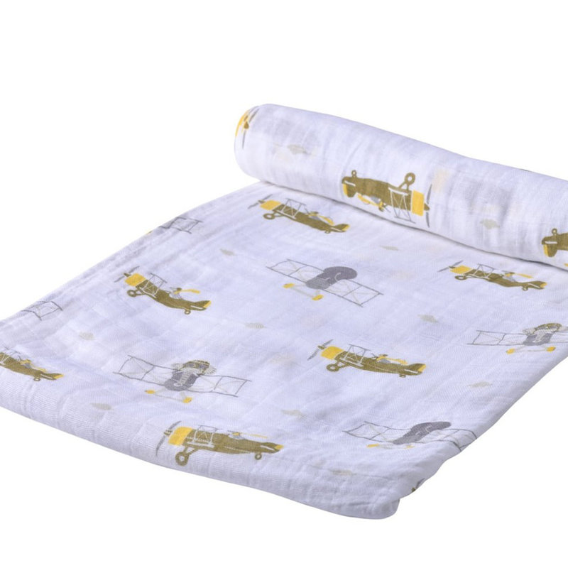 NEWCASTLE CLASSICS LLC COTTON SWADDLE BLANKET