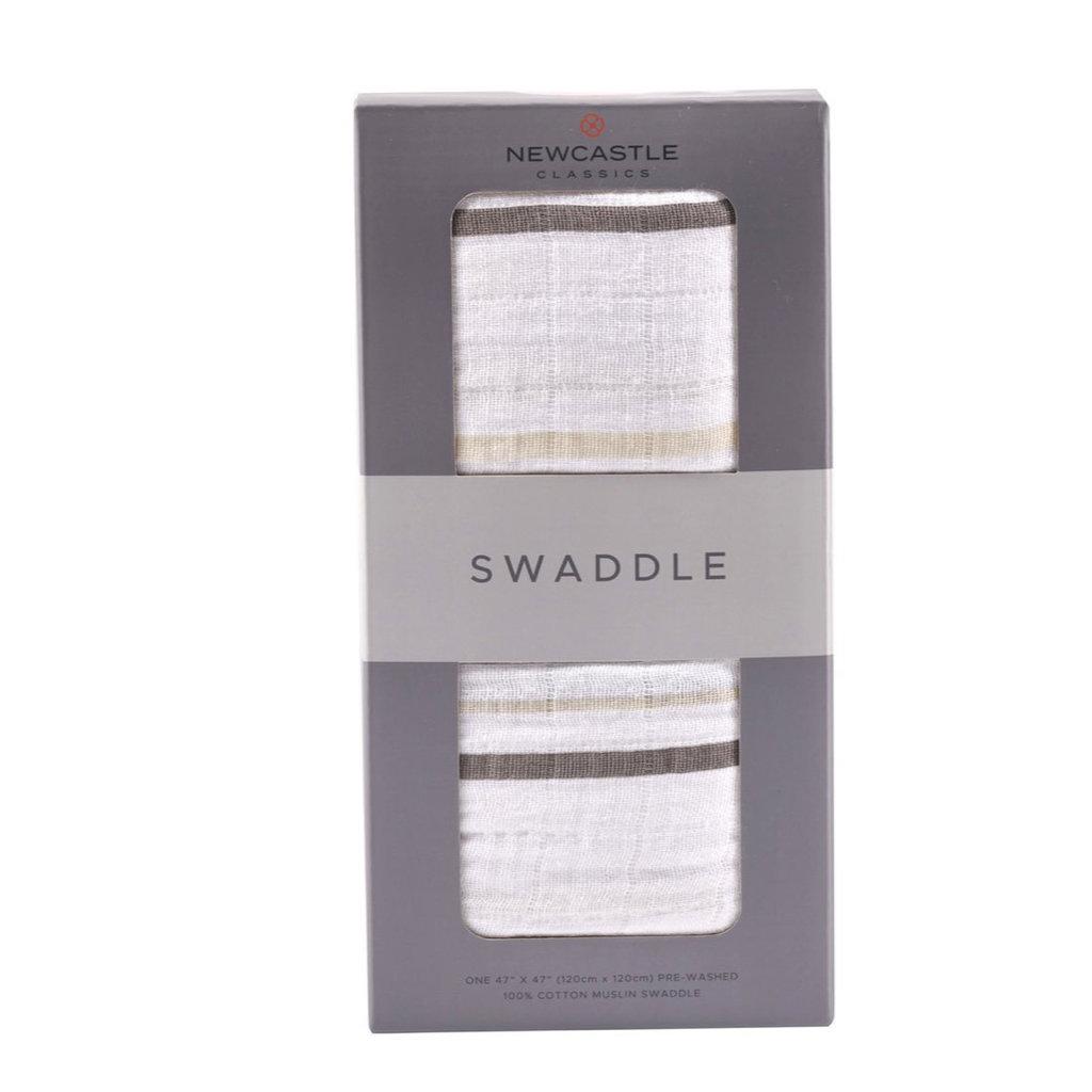 NEWCASTLE CLASSICS LLC COTTON SWADDLE BLANKET